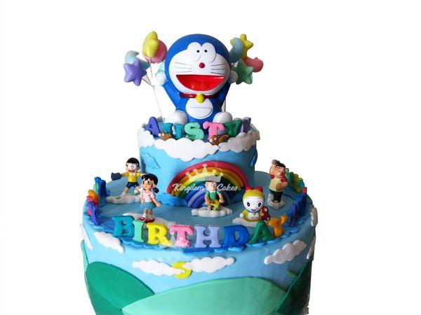 Rainbow mornings with Doraemon