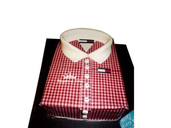 Shirt on